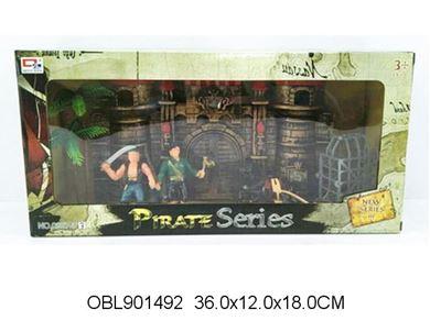 Изображение 0807-33 набор пирата, в коробке 014925