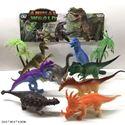 Изображение 552-21 набор резин. животных (динозавры), 8шт/в пакете 42046